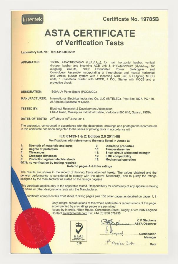 1600A-ASTA-Certificate