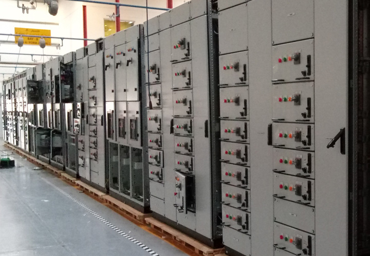 INTELEC - Intelligence on Safe Power,  Power Motor Control Centre
