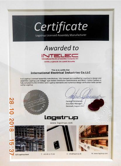 Logstrup-Certificate