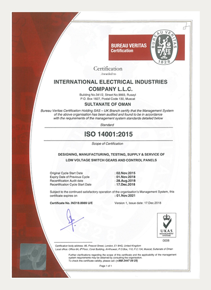 ISO-14001-Certificate